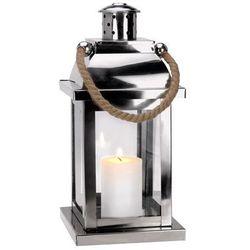Metalowy lampion - latarnia, latarenka