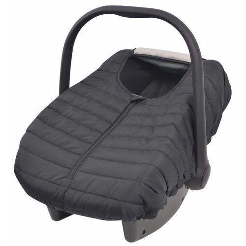 Pozostałe akcesoria dla dzieci, vidaXL Pokrowiec na nosidełko/fotelik, 57x43 cm, czarny