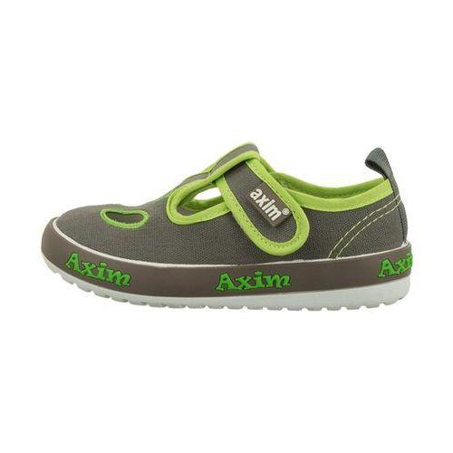 Buty sportowe dla dzieci, AXIM 2TE1198 popielaty, tenisówki dziecięce, rozmiary: 25-30 - Szary