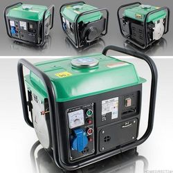 Agregat Prądotwórczy o Mocy 850W 230 V 12 V Benzyn
