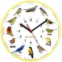 Zegary, Zegar ścienny obrazki /ptaszki