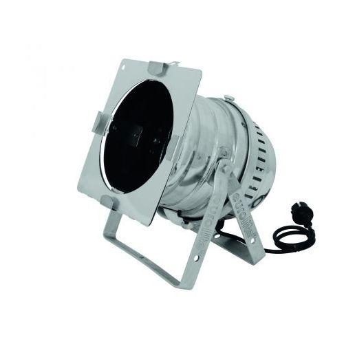 Zestawy i sprzęt DJ, Eurolite PAR-64 obudowa krótka,srebrna (floor)