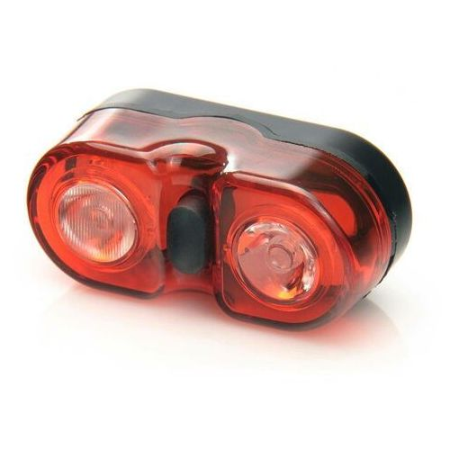 Oświetlenie rowerowe, tylna diodowa lampa rowerowa MacTronic WALL-e BPM-2SL