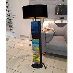 Rozlane niebo - modna lampa podłogowa w stylu eklektycznym rabat 10%