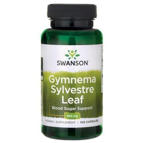 Tabletki na odchudzanie, Swanson Gymnema Sylvestre 400mg - (100 kap)