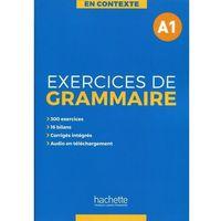 Książki do nauki języka, En Contexte Exercices de grammaire A1 Podręcznik + klucz odpowiedzi (opr. miękka)