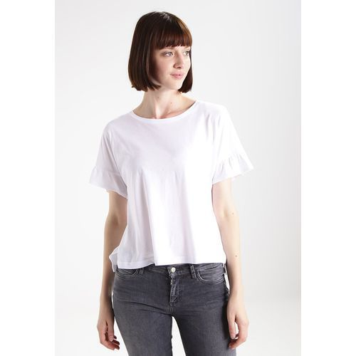 T-shirty damskie, Abercrombie & Fitch BELL SLEEVE Tshirt basic cream