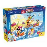 Puzzle, Myszka Miki i przyjaciele Puzzle 108 elementów 2 w 1