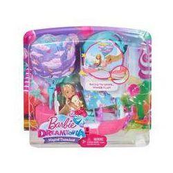 Barbie Chelsea Magiczna łódka + lalka. Darmowy odbiór w niemal 100 księgarniach!