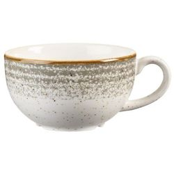 Filiżanka do cappucino 0,227 l | CHURCHILL, Homespun Style Stone Grey