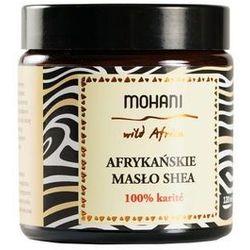 Mohani Afrykańskie masło shea nierafinowane 100g