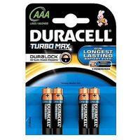 Baterie, Baterie alkaliczne Duracell Turbo AAA LR03 1,5V, 4 +2szt