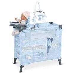 DeCuevas składane łóżko dla lalek z 5 funkcjonalnymi akcesoriami Carol - BEZPŁATNY ODBIÓR: WROCŁAW!