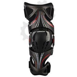 ALPINESTARS FLUID CARBON stabilizator ochraniacz kolan na lewą nogę