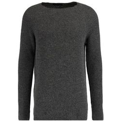 Scotch & Soda CREWNECK Sweter graphite melange