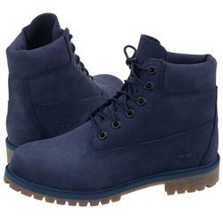 Trapery Timberland 6 In Premium WP Boot Patriot Blue A1VCV (TI53-l)