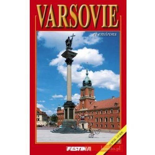 Albumy, Warszawa i okolice. Wersja francuska (opr. broszurowa)
