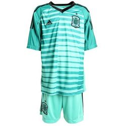 adidas Performance FEF SPAIN GOALKEEPER YOUTHKIT SET Krótkie spodenki sportowe aergreen/powergreen