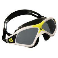 Okularki pływackie, Aquasphere okulary-maska Seal XP 2 ciemne 138100-21091 W white-yellow