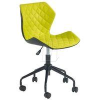 Fotele, Fotel młodzieżowy Halmar Matrix zielony - gwarancja bezpiecznych zakupów - WYSYŁKA 24H