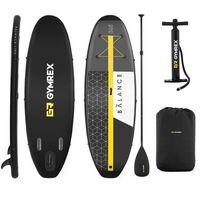 Pozostałe sporty wodne, Gymrex Deska SUP - dmuchana - Balance Line - 230 kg GR-SPB365