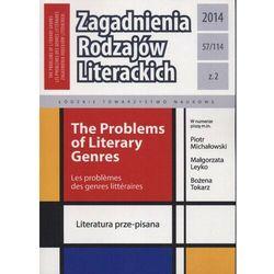 Zagadnienia Rodzajów Literackich t. 57 (114) z. 2/2014 - praca zbiorowa - ebook
