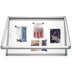 Gablota informacyjna suchościeralno magnetyczna 150x100cm 2x3 GS11510