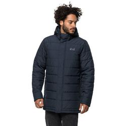 Płaszcz puchowy męski SVALBARD COAT MEN night blue