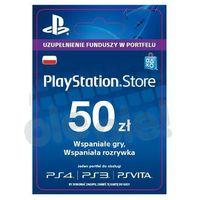 Klucze i karty przedpłacone, Sony PlayStation Network 50 zł [kod aktywacyjny]