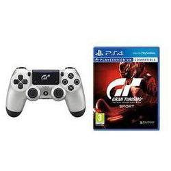 Gamepad Sony Dual Shock 4 pro PS4 v2 - Gran Turismo Sport edice + hra Gran Turismo Sport (PS719932468)