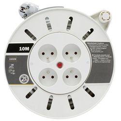 Przedłużacz bębnowy Diall 4 x 10 A 3 x 1 mm2 10 m