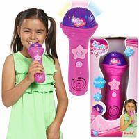 Instrumenty dla dzieci, My Music World Różowy mikrofon +DARMOWA DOSTAWA przy płatności KUP Z TWISTO
