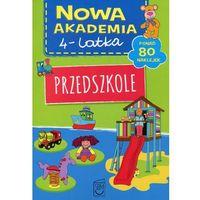 Książki dla dzieci, Przedszkole, Nowa Akademia 4-latka - Opracowanie zbiorowe (opr. broszurowa)