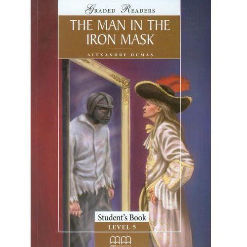 Książki do nauki języka, The man in the iron mask-students book (opr. miękka)