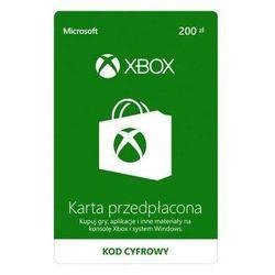 MICROSOFT Karta przedpłacona Xbox 200 PLN