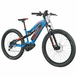 Rower elektryczny TORPADO Thor Maxdrive 27.5 M16 Niebiesko-pomarańczowy DARMOWY TRANSPORT