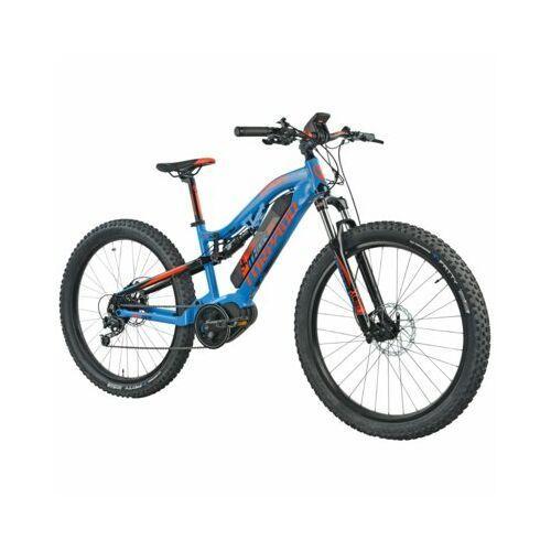 Rowery elektryczne, Rower elektryczny TORPADO Thor Maxdrive 27.5 M16 Niebiesko-pomarańczowy DARMOWY TRANSPORT