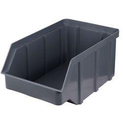 Plastikowy pojemnik warsztatowy - wym. 225 x 145 x 110 - kolor szary