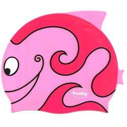Fashy czepek silikon junior 3048 rybka różowy