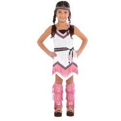 Kostium Indianka dla dziewczynki - 9/11 lat (140) Western (-10%)