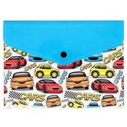 Teczka koperta na zatrzask A5 PP z nadrukiem auta - auta \ A5 (21cm x 14,8cm)