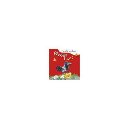 Książki dla dzieci, WRONA I SER (opr. kartonowa)