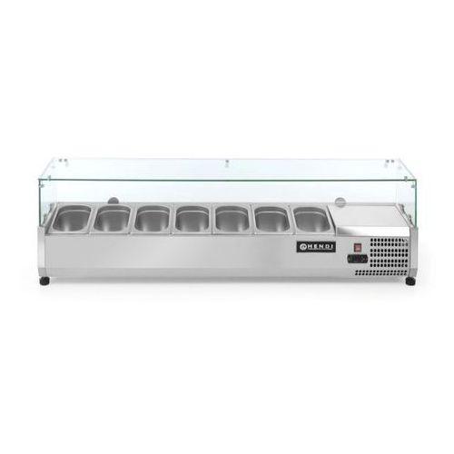 Szafy i witryny chłodnicze, Hendi Nadstawa chłodnicza 7x GN 1/4 | 1500x335x(H)430mm - kod Product ID
