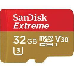 SanDisk Extreme microSDHC 32GB + adapter - produkt w magazynie - szybka wysyłka!
