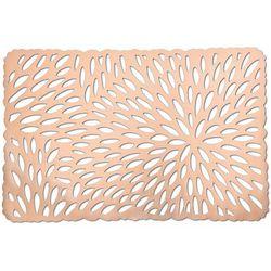 Prostokątna różowa podkładka koronkowa, podkładki pod talerze, podkładki na stół nowoczesne, eleganckie podkładki na stół, ZELLER