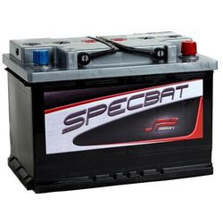 Akumulator SPECBAT 74Ah 640A EN PRAWY PLUS wysoki