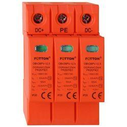 Ogranicznik przepięć FOTTON OBV26PV-12,5 kl. I, II (B+C) 1000V DC Ogranicznik przepięć 1000V DC klasy I+II (B+C) FOTTON OBV26PV 12,5kA/biegun