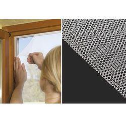 Moskitiera okienna na okno 150x130cm taśma rzep 5m