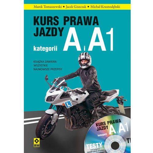 Biblioteka motoryzacji, Kurs prawa jazdy. Kategorie A i A1 (opr. miękka)