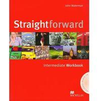 Książki do nauki języka, Straightforward Intermediate Workbook with CD - Waterman John - książka